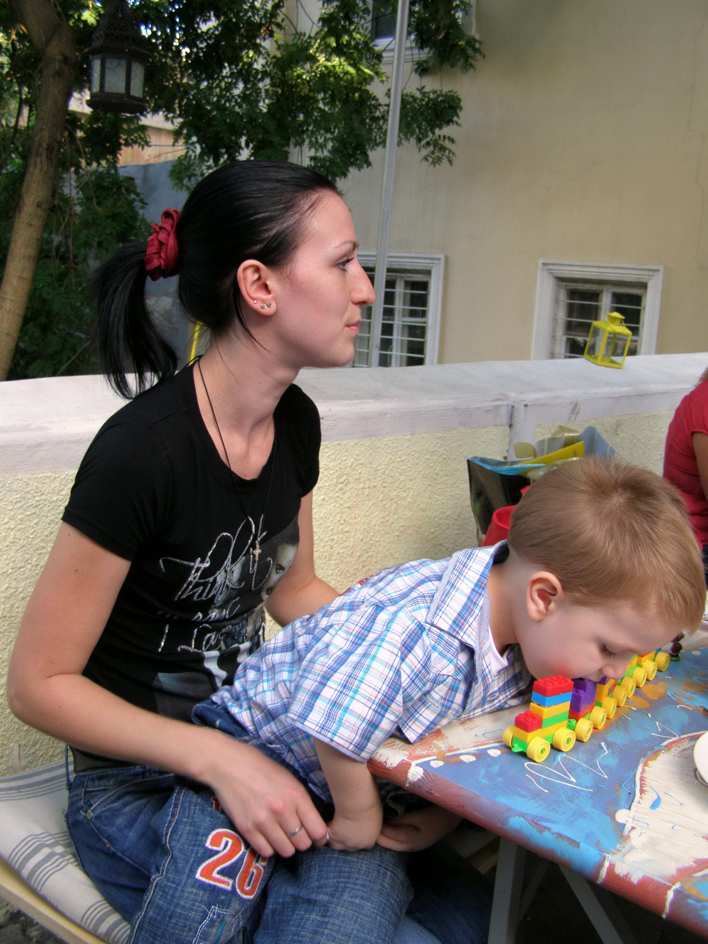 Наша первая встреча с Максимом Беловым. Фото 2011 года.