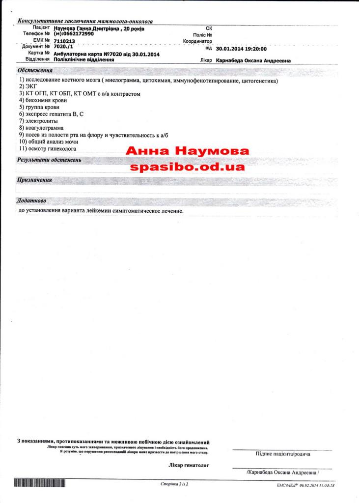 ВЗ. Консультативное заключение стр.2