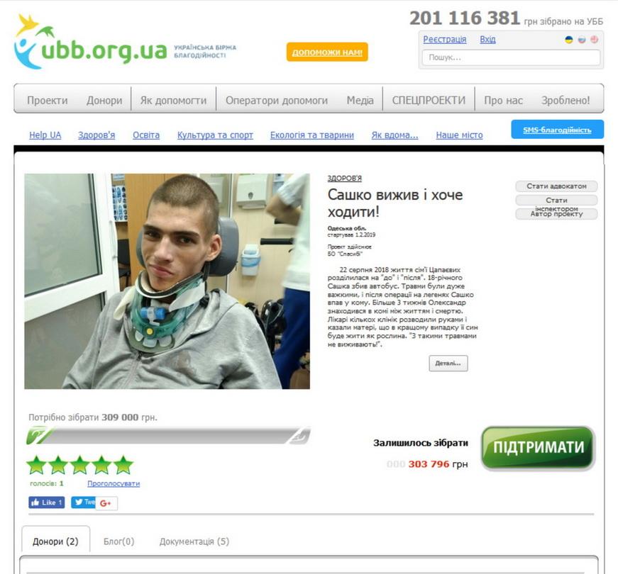 Цапаев УББ