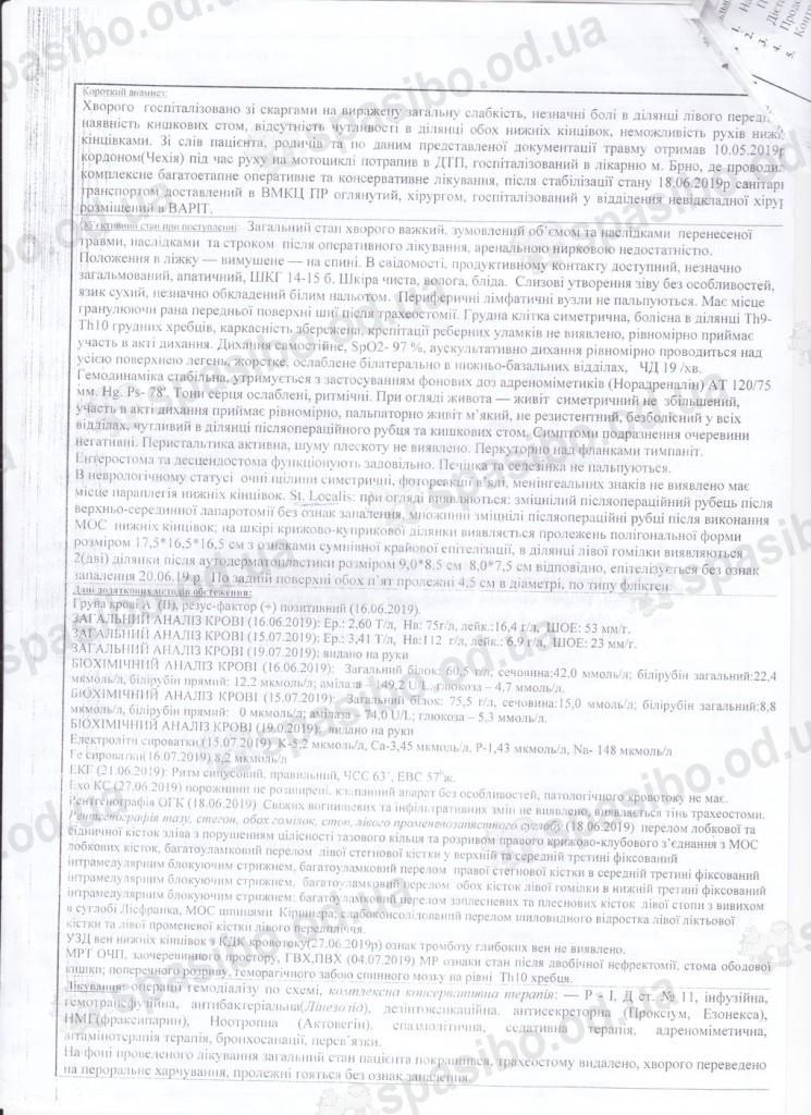 Выписка из военного госпиталя (2)